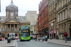 Streets of Liverpool, in the UK Royalty Free Stock Image