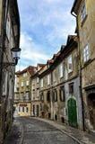 Streets of Ljubljana Royalty Free Stock Images