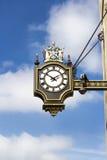 Streets of London, clock Royalty Free Stock Photos