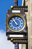 Streets of London, clock Royalty Free Stock Photo