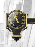 Streets of London, clock Royalty Free Stock Image