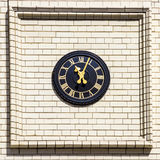 Streets of London, clock Stock Photo