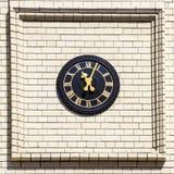 Streets of London, clock Stock Photo
