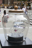 the streets of London are transformed with magical giant Dream Jars to celebrate Roald Dahls 100th birthday and The BFG movie rel Stock Images