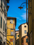 Streets of Lucca, Italy Royalty Free Stock Photography