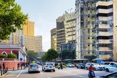 Streets of Macau Royalty Free Stock Photos