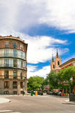 On the streets of  Madrid Stock Images