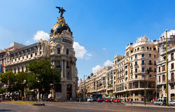Streets of Madrid, Spain Stock Photo