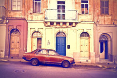 Streets of Malta Stock Photography
