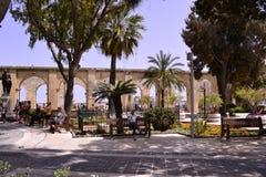 Streets of Malta Stock Photo