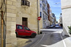Streets of Malta Stock Photography