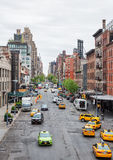 Streets of Manhattan Stock Photography