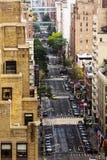 Streets of Manhattan Stock Photography
