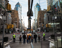 Streets of Manhattan Stock Image