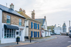 Streets of Marazion Royalty Free Stock Photo