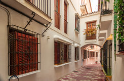 Streets of Marbella. Stock Photography