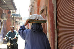 The streets of Marrakech Royalty Free Stock Photos