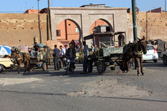 The streets of Marrakech Royalty Free Stock Image