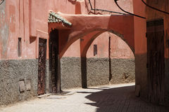 Streets of Marrakesh Royalty Free Stock Image