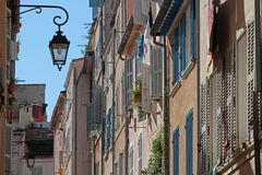 Streets of Marseilles Royalty Free Stock Image
