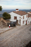 Streets of Marvao, Alentejo, Portugal Royalty Free Stock Images