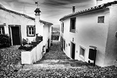 Streets of Marvao, Alentejo, Portugal Royalty Free Stock Photography