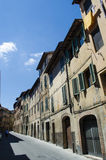 Streets medieval villages Italy Royalty Free Stock Images