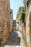 Streets of mediterranean Stock Photo
