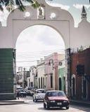 Streets of Merida, Mexico. Colorful streets of Merida, Mexico royalty free stock photo