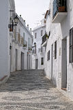 Streets in Mijas the white city in Malaga Royalty Free Stock Images