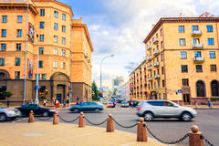 Streets of Minsk Royalty Free Stock Image