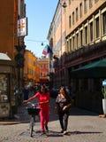 Streets of Modena Stock Photo
