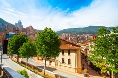 Streets of Monaco Stock Photography