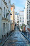 Streets of Montmartre Stock Images