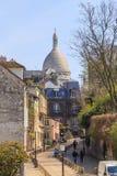 Streets of Montmartre Stock Photo