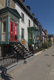 Streets in Montreal Royalty Free Stock Images