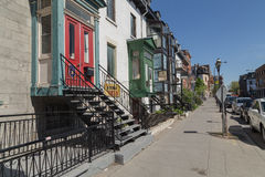 Streets in Montreal Stock Images