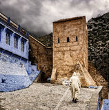 Streets from Morocco Stock Images