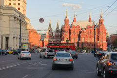 Streets of Moscow Royalty Free Stock Photos