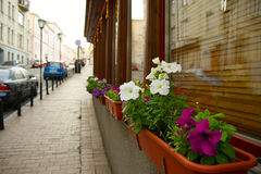 The streets of Moscow 2 Royalty Free Stock Photography