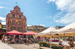 In the streets of Mulhouse Royalty Free Stock Photography