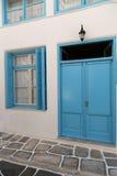 Streets of Mykonos Stock Photography