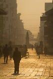 The streets near Dubar square of Kathmandu Royalty Free Stock Photo