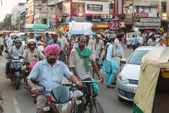 The streets of New Delhi Royalty Free Stock Photography