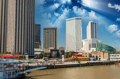 Streets of New Orleans, Lousiana Stock Photography