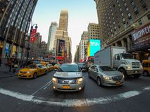 Streets of New York Royalty Free Stock Image