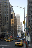 Streets of New York City, Manhattan Stock Photos