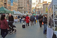 Streets of New York Union Square USA Royalty Free Stock Image