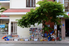Streets of Nha Trang , Vietnam Stock Images