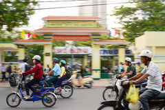Streets of Nha Trang , Vietnam Royalty Free Stock Photos